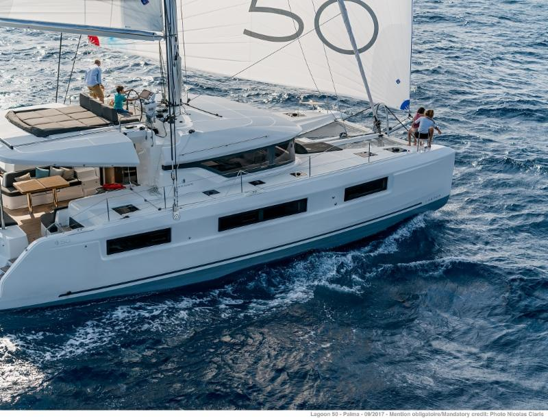 Catamarans For Sale with 6 Cabin Layout: Lagoon 50 - Charter Business Income Earner