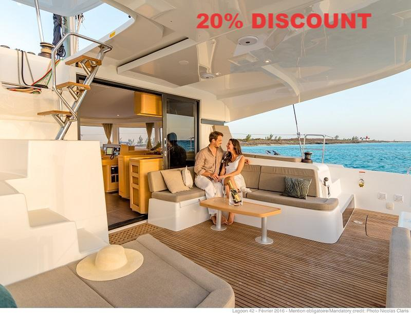 20% Charter Discount on Lagoon & Gemini Catamarans in Tortola, BVI