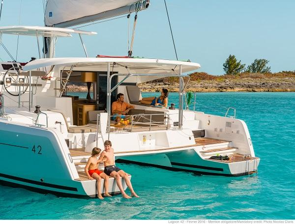 Come Meet us Aboard the Lagoon 42 during Miami Show.  Become a Charter Business Owner.