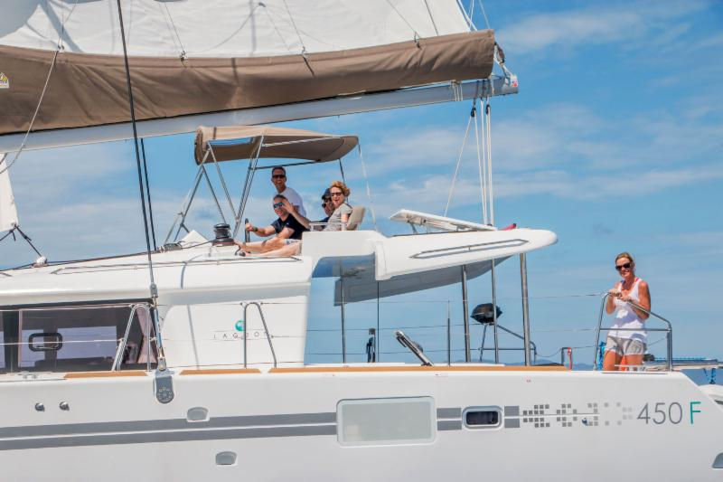 Five Lagoon 450's For Sale - Charter Versions - 4 Cabin Layouts - Starting at $439,000