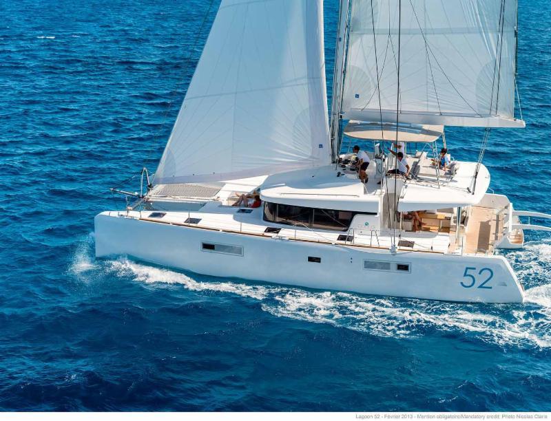 Book Christmas aboard 2019 Lagoon 52 'SEA RUNNER II' in BVI