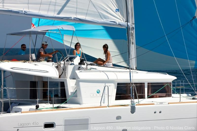 New 2019 Lagoon 450 F available for Christmas/New Year in BVI