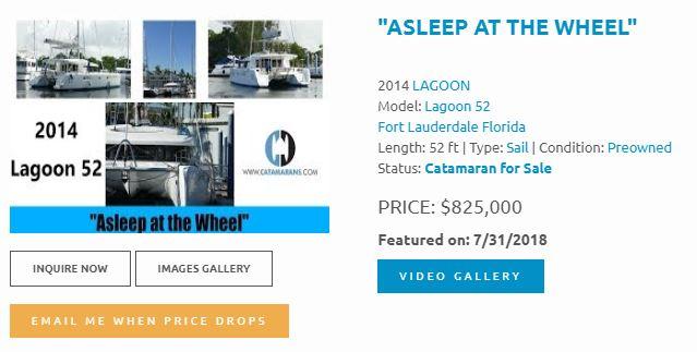 Catamaran Videos:Lagoon, Fountaine Pajot, Leopard, Privilege, Curt Hughes