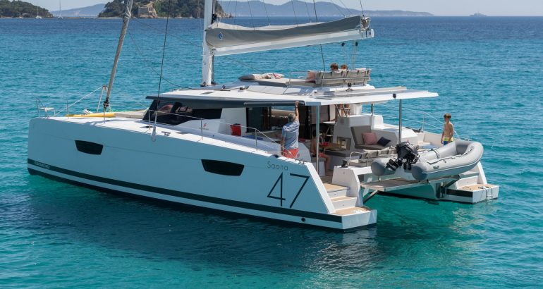 5 Cabin FP Saona 47 opens up for July 20 - 30 in BVI. Sleeps