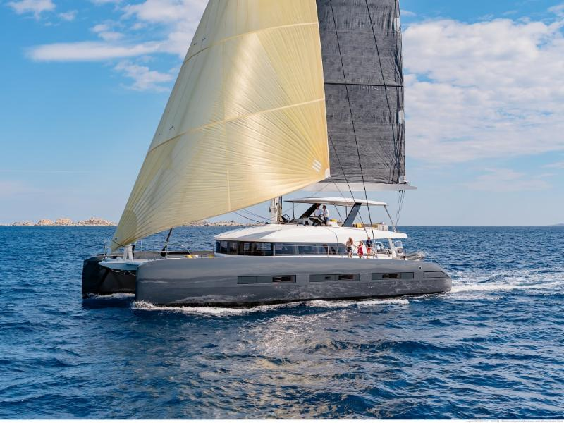 Let's Go Big and Fast aboard Gunboat 78 and Lagoon Seventy 7 | Crewed Charter Business Option