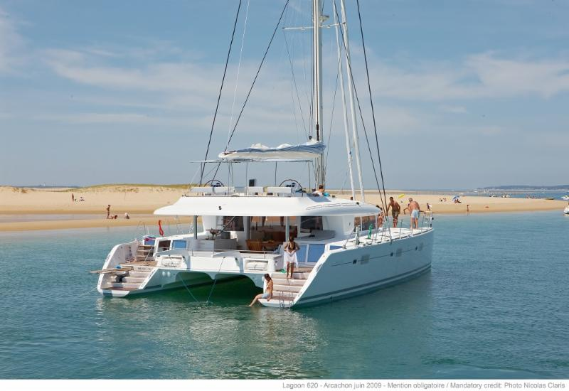 Cabin for $2,799  ALL IN.  Sail aboard Luxury Lagoon 620 in BVI.