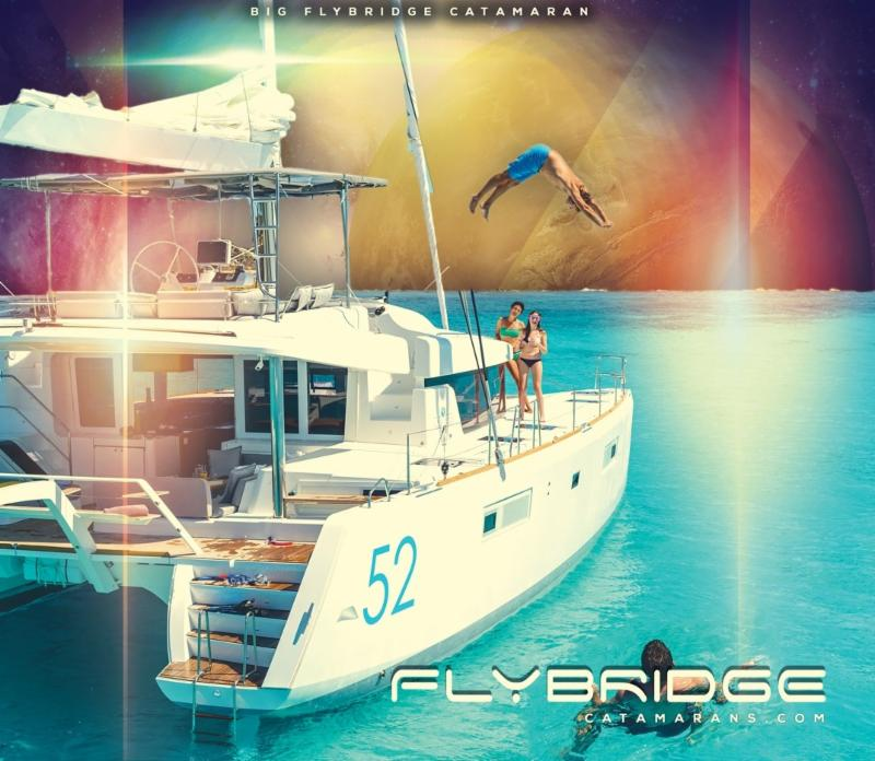 Five Slots Now Open aboard Lagoon 52. Smart Catamaran Ownership 2.0!