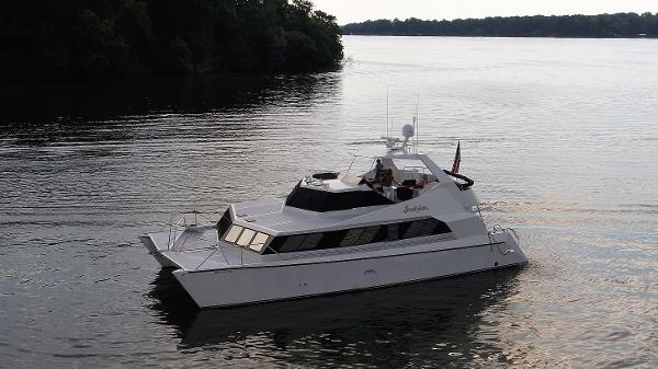 Power Catamarans For Sale: 2007 Pedigree Cat 52