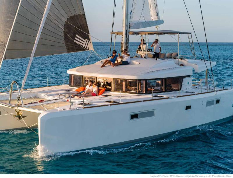 New Years Xmas  Cancellation Opens Lagoon 52 NAUTI BY NATURE II in BVI