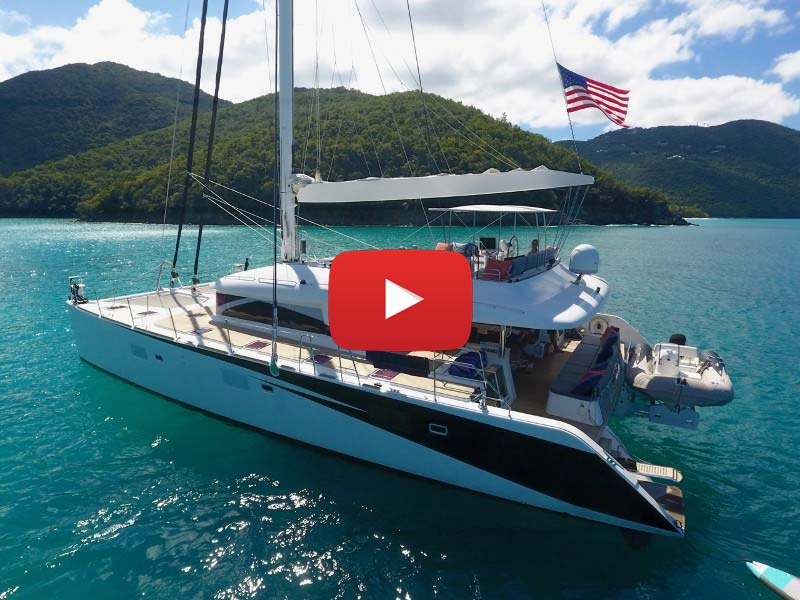 Catamaran Video: Walk-through on 2010  Lagoon 620