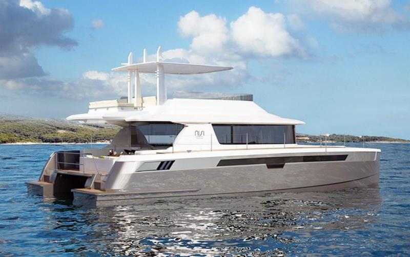 Size Range: 53 to 55 Feet For Sale:  Featured Power Catamaran: GTX50