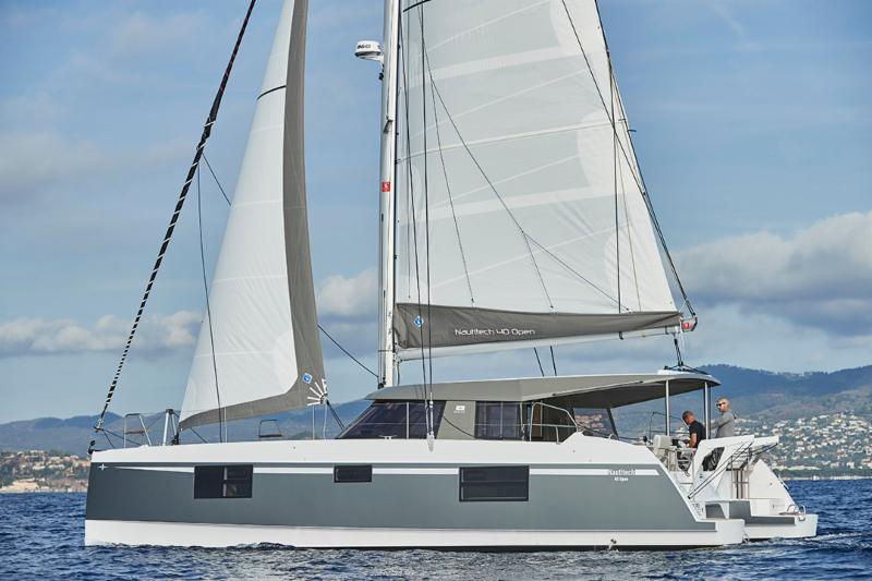 Catamarans For Sale in California|Nautitech 40 Open