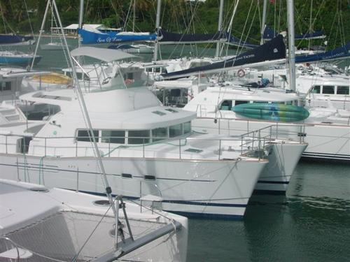 AS IS WHERE IS!2004 Lagoon43 Power Catamaran Asking $99,000