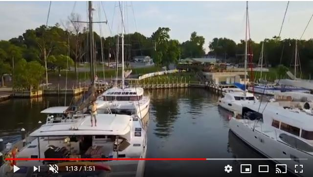 Catamaran Slips and Haul Out Facilities Near Annapolis: Pier 7 Resort Marina
