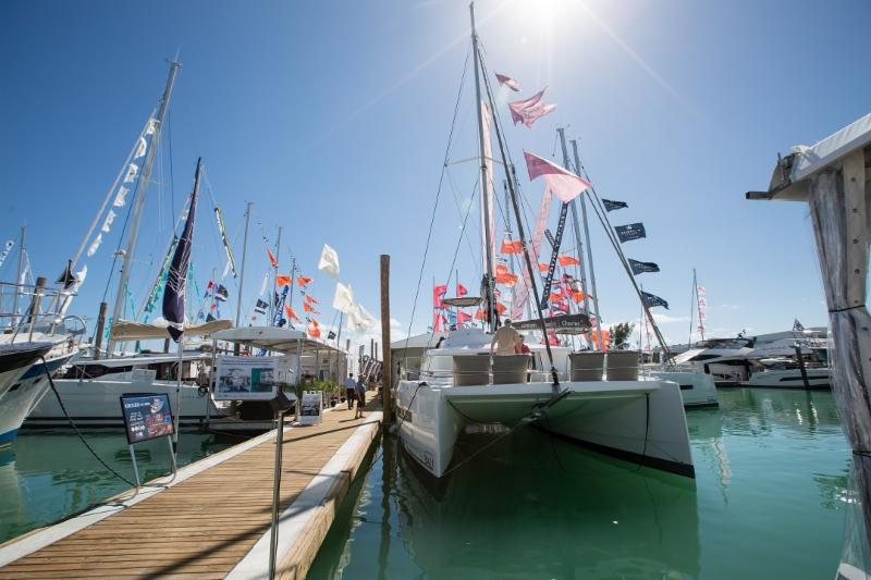 17 Catamarans on Display at Miami Boat Show:Fountaine Pajot,Nautitech,Gemini,Lagoon