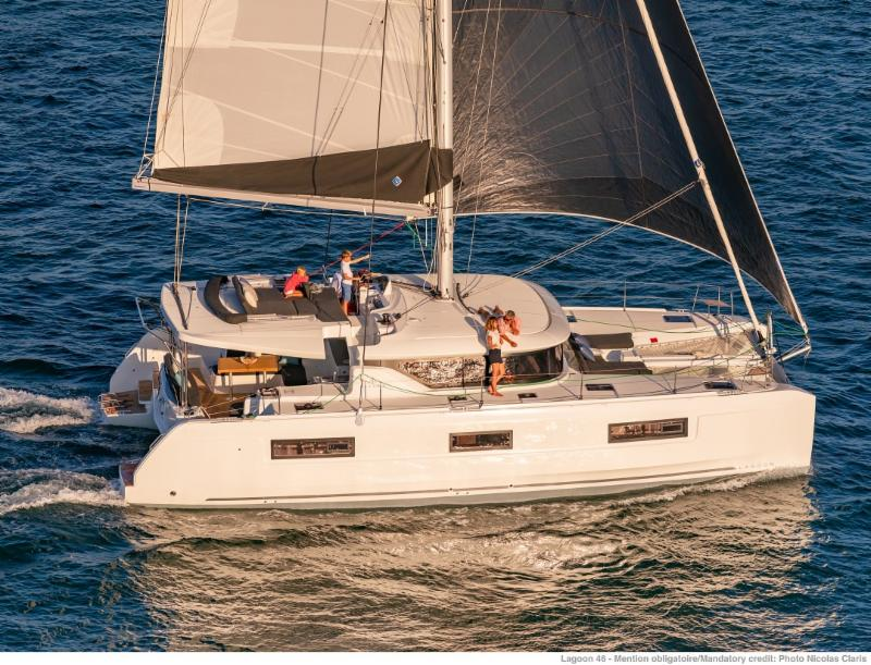 SUPREME - The one and only Lagoon 46 is coming to BVI in November