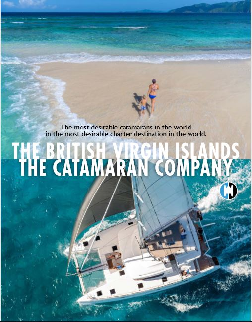 Download our Sailing Vacation Brochure Aboard Catamarans in BVI