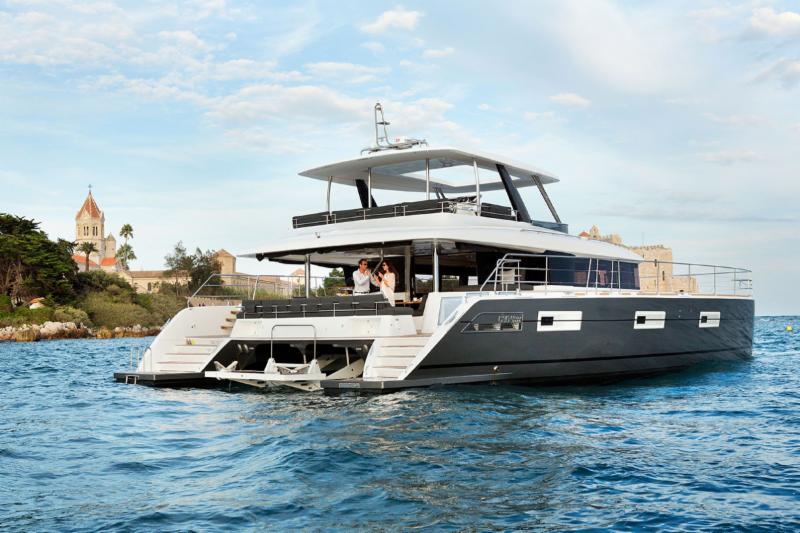 Lagoon 630 Motor Yacht on The Cat Walk - February 2