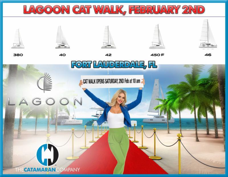 TEN Price Cuts & FOUR New Listings   CAT WALK   Boat Show Schedule February