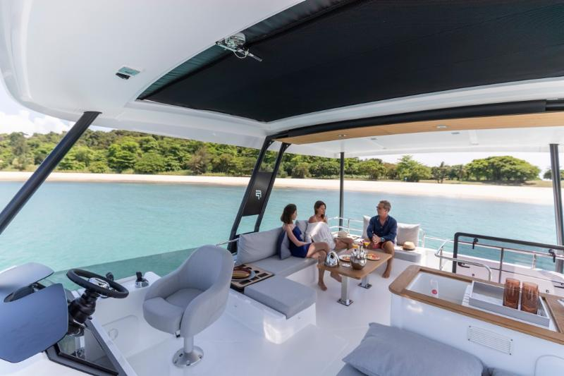New Fountaine Pajot MY 40: Own Her in California or the British Virgin Islands