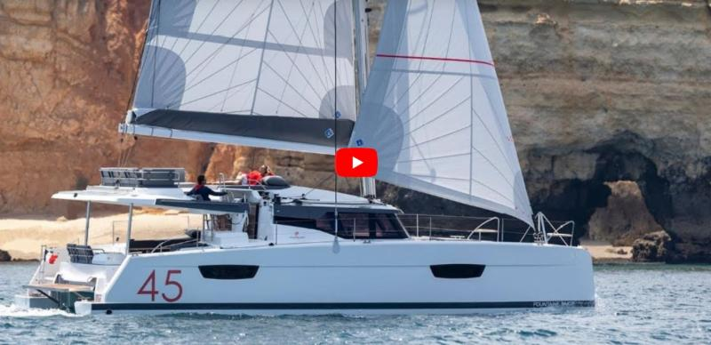 New Images and Video of the New Fountaine Pajot 45