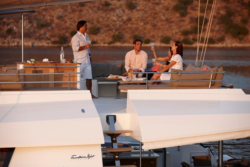 Earn Crewed Yacht Charter Revenue aboard Fountaine Pajot 58