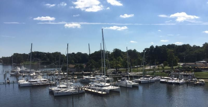 Pier 7 Marina now hauling cats up to 62 Feet | Catamarans For Sale in Edgewater, MD
