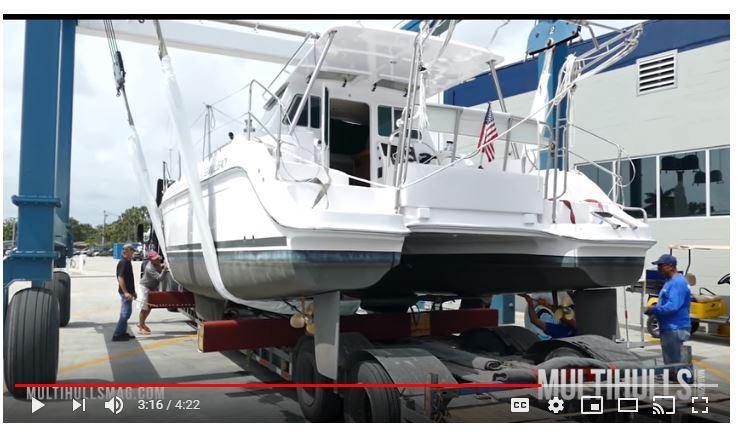 Catamaran Video:Gemini|Lagoon|Nautitech|Miami Boat Show|Multitech Marine