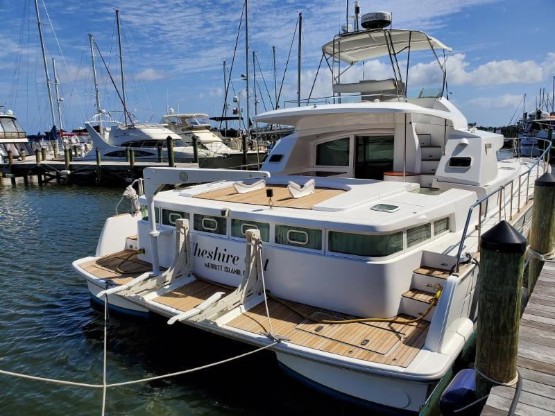 2004 Lagoon Power 43 asking $290,000 in Cocoa Beach, FL