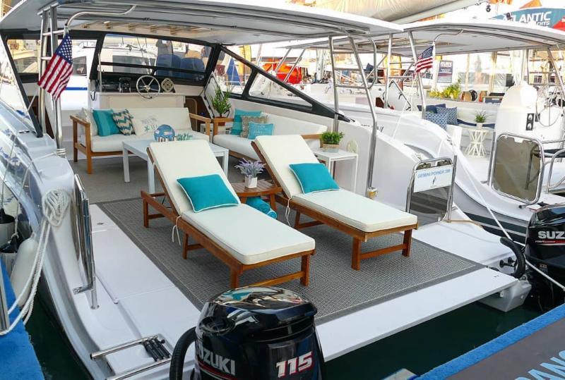 Day Charter Catamarans For Sale | Gemini Freestyle 399 Power | Taiti 80