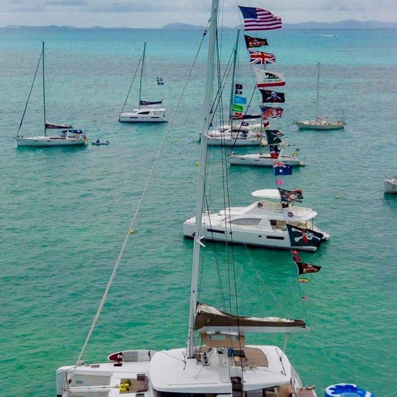 2019 Official Party Schedule For Interline Regatta in British Virgin Islands