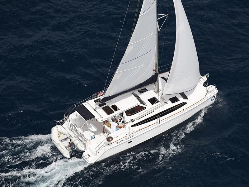 LA Harbor Boat Show Gemini Legacy35 FP Astrea42 Nautitech 40
