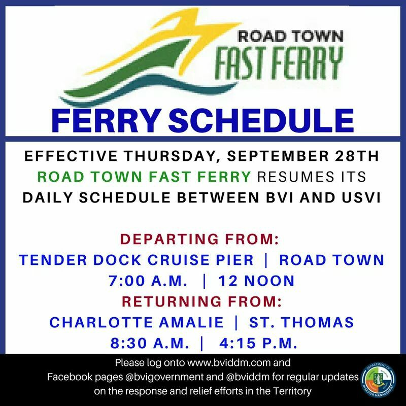 Road Town Fast Ferry