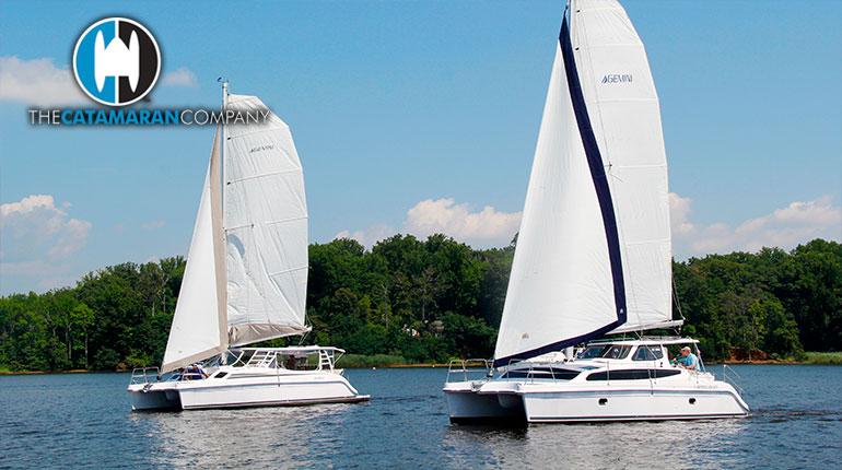 Two Are Better Than One!  Gemini Legacy 35 + Gemini Freestyle 37 Headline Sunroad Marina Boat Show in San Diego, California