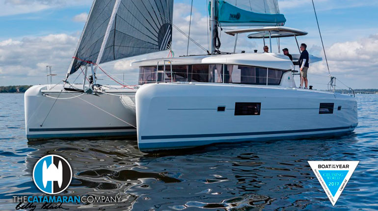 Lagoon 42 Catamaran Awarded Cruising World Boat of Year