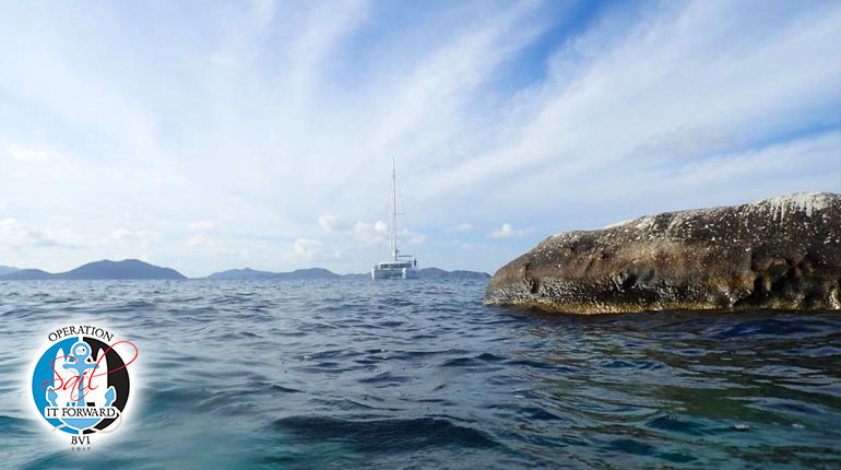 OPERATION SAIL IT FORWARD BVI SNORKELLING AT COOPERS, INDIANS, RHONE