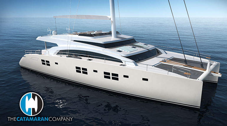 Sunreef Yachts is building an 88ft Double Deck Sailing Superyacht